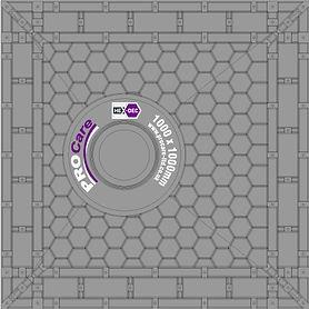 Hex-Dec Honeycombe base illustration