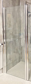 Symphony Cropped Fixed Glass Shower Screen