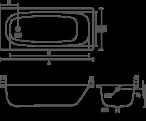 PROBath Cignet Bath Dimensions