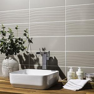prismaticsTones beige wavy tiles imagewhite-kitchen.jpg