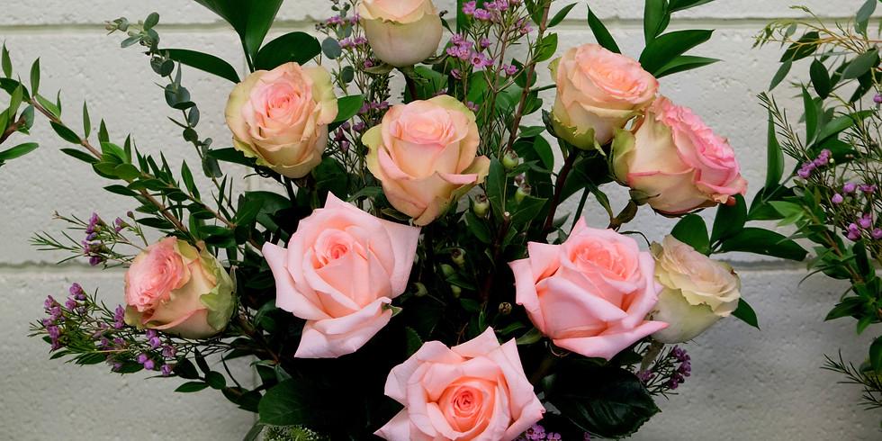 Rose Arrangement Workshop