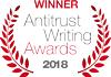 Antitrust Writing Awards winner 2018