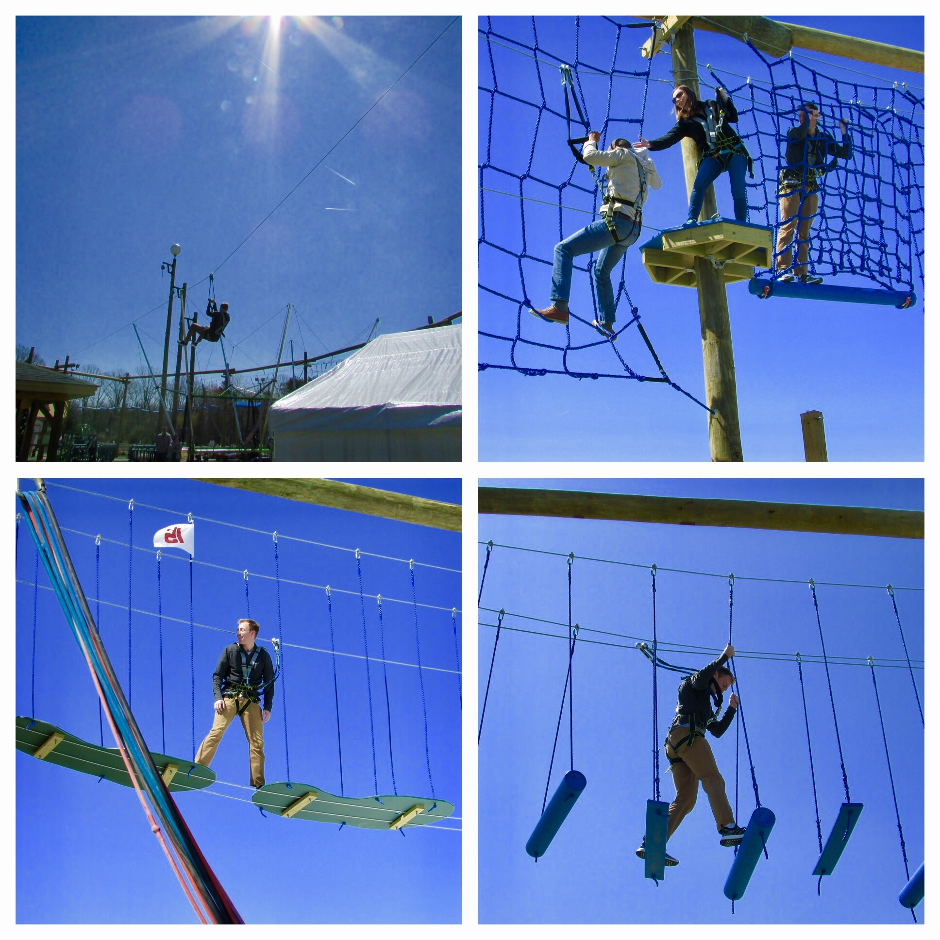 Group Ropes Course