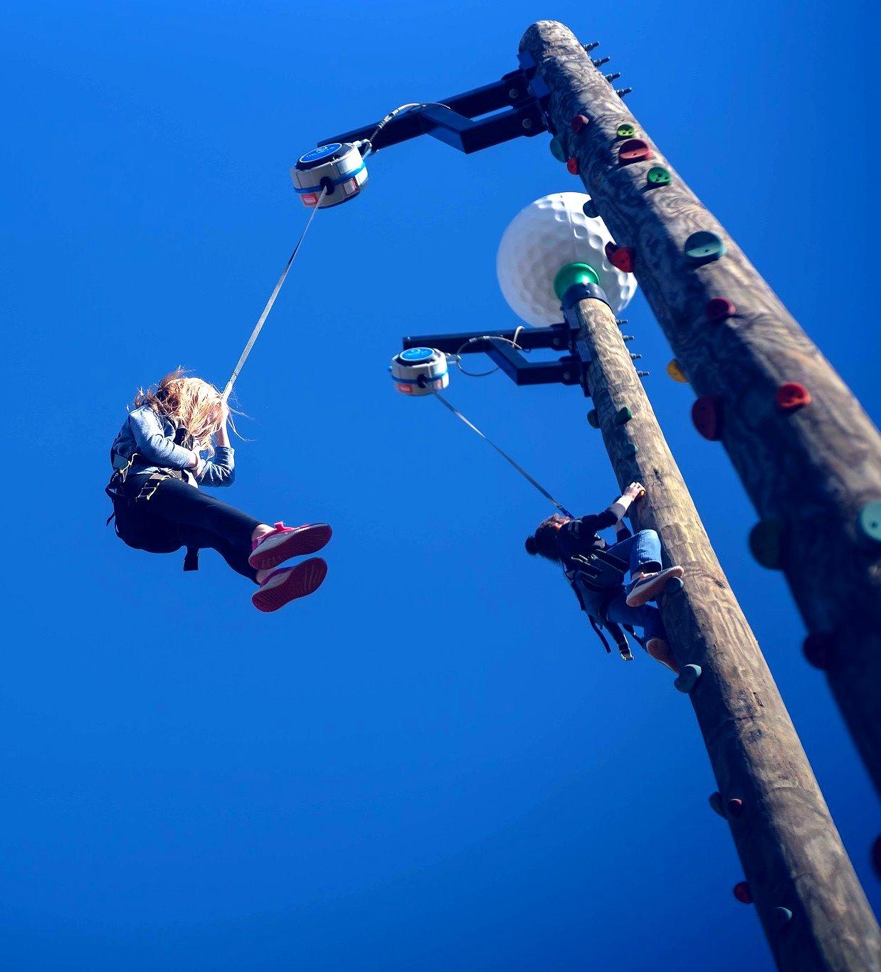 Timber Climbing