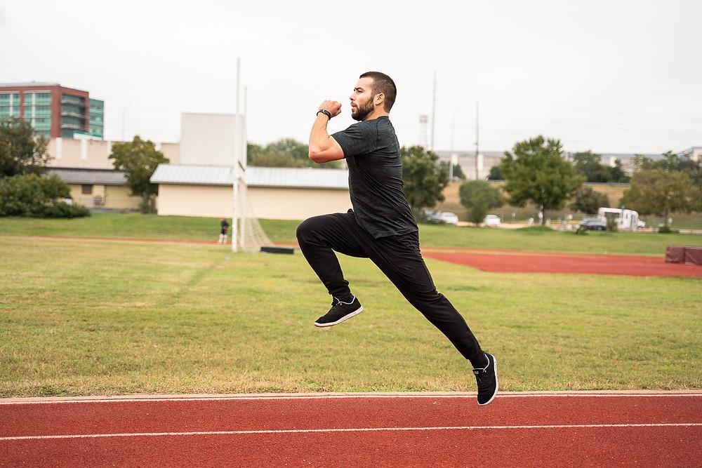 run, jump, fly