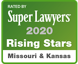 Rated by Super Lawyers 2020 Rising Stars