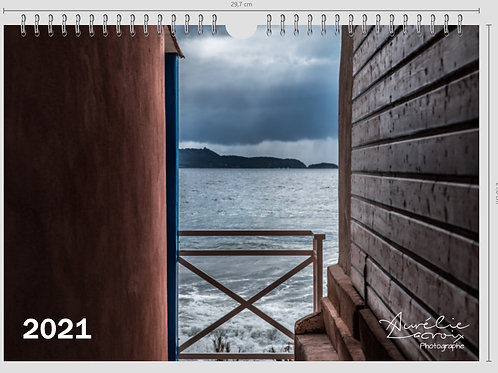 Calendrier  A4 - Paysages
