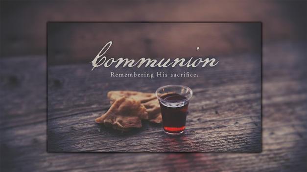Communion Service at 9am