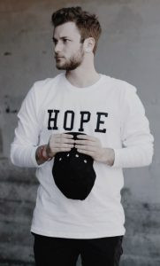 hope, tshirt, holding on to hope