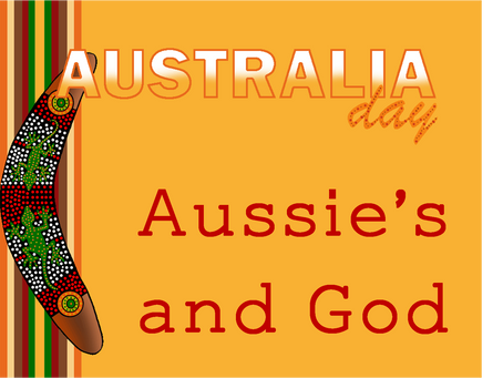 Aussies and God
