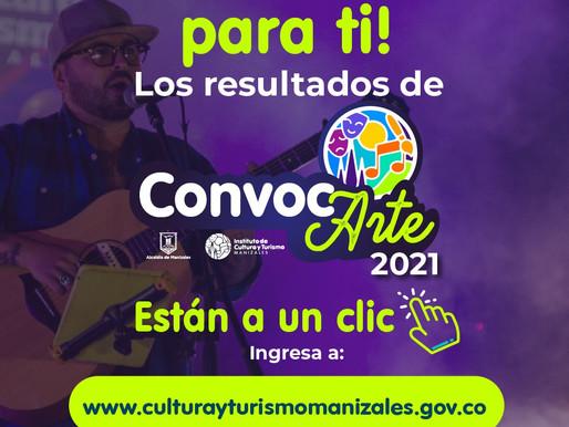 DEFINIDO LISTADO DE PROYECTOS ELEGIBLES CONVOCARTE 2021