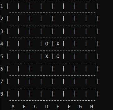 Reversi Game in C++