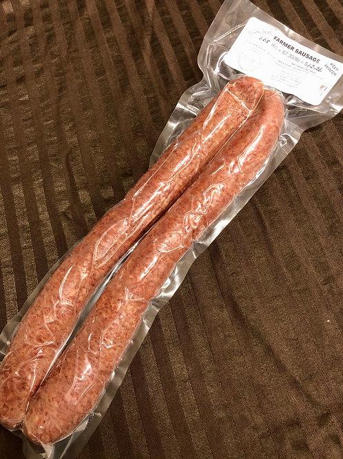 Farmer Sausage $7.30/lb