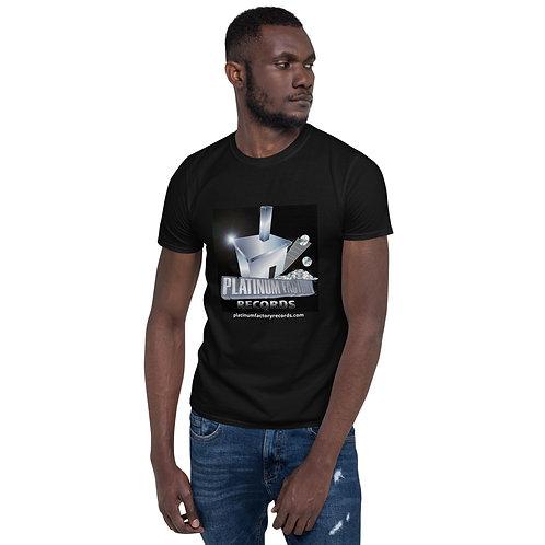 Platinum Factory Records Logo Short-Sleeve Unisex T-Shirt