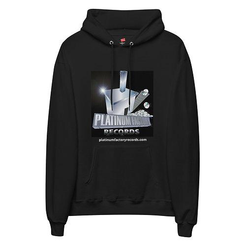 Platinum Factory Records Logo Unisex fleece hoodie