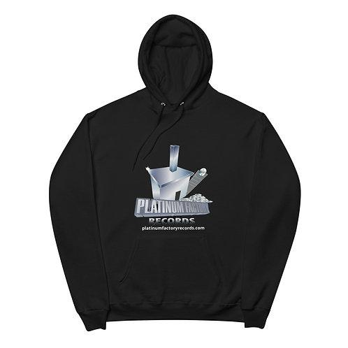 Platinum Factory Records Logo - Unisex fleece hoodie