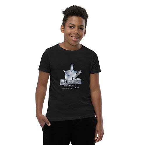 Platinum Factory Records Logo - Youth Short Sleeve T-Shirt