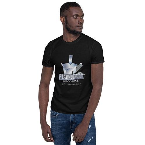 Platinum Factory Records Logo - Short-Sleeve Unisex T-Shirt