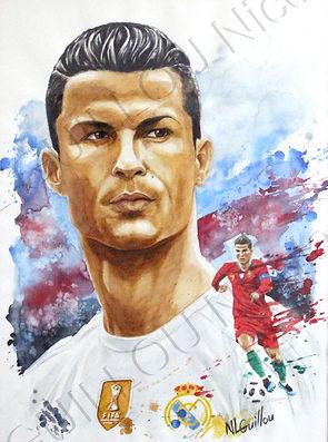 Cristiano Ronaldo par Nicolas Le Guillou.jpg