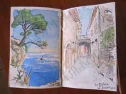 Toulon, le Cap Brun et La Cadière d'Azur