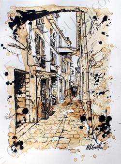 Rue de Bonifacio (Corse)
