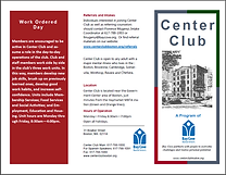 Center Club Brochure