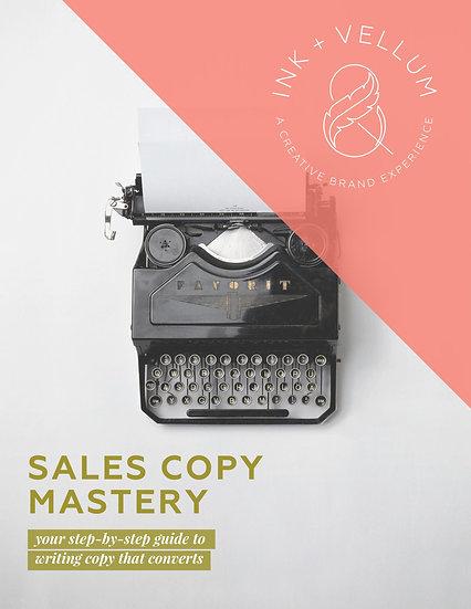 Sales Copy Mastery
