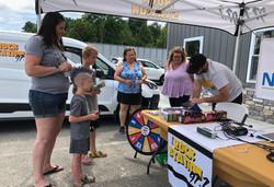 Radio Station visits BCVIN