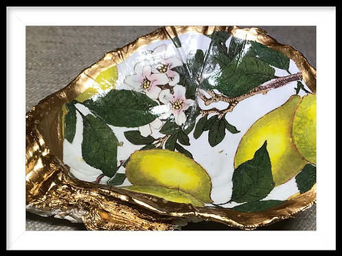 Oyster Shell Jewelry Dish