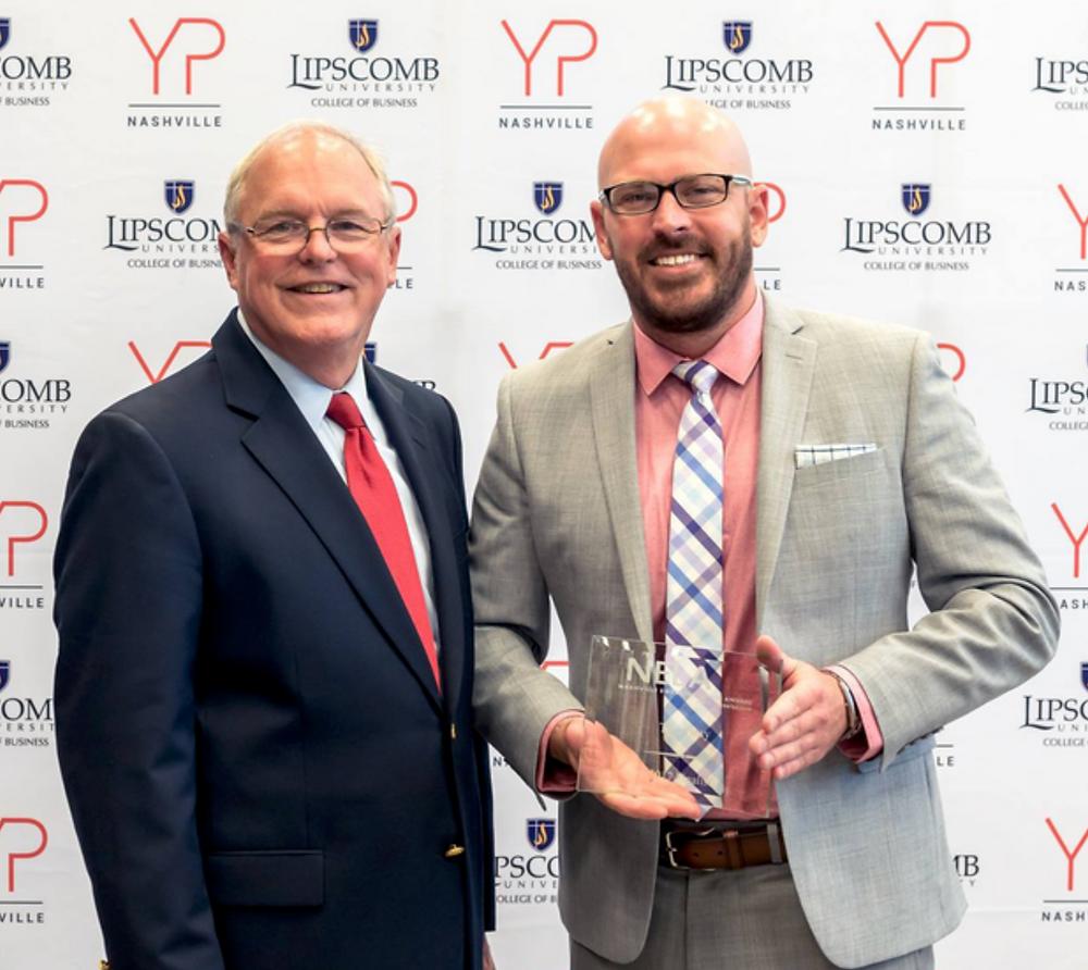 Tim Gray grayscale marketing ceo wins nashville emerging leader awards
