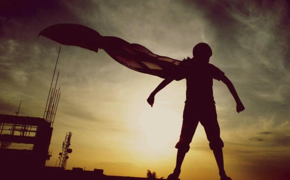 super hero mindset
