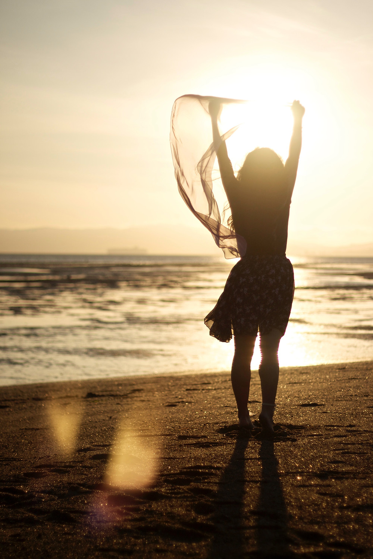 girl at beach