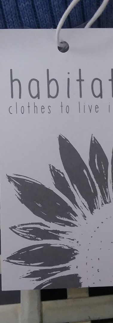 Habitat - clothes to live in