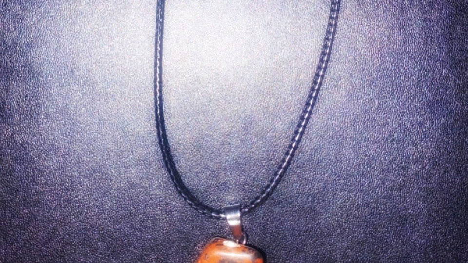 Tiger's Eye Crystal Necklace