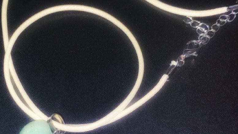 Green Aventurine Crystal Necklace