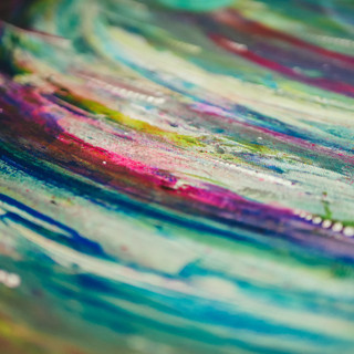 Close-up Cosmic Rain