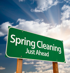 Spring Cleanup Around The Corner!