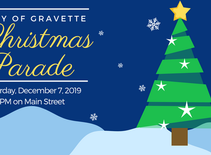 Christmas Parade on December 7