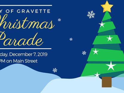 Christmas Parade on December 7