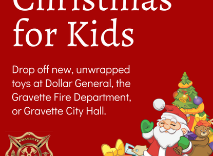 Fire Department Collecting Toys
