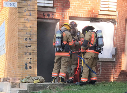 Fire Department Conducts Large Area Training