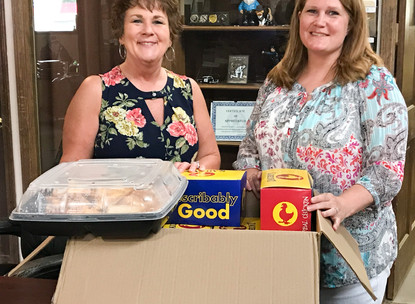 Lunch Donated to Police Department