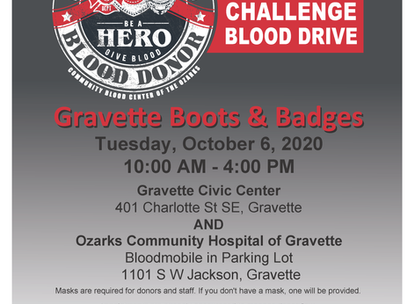 Boots & Badges Blood Drive