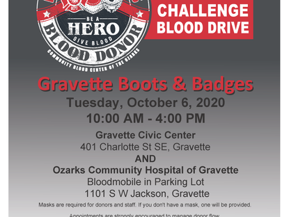 Boots & Badges Blood Drive