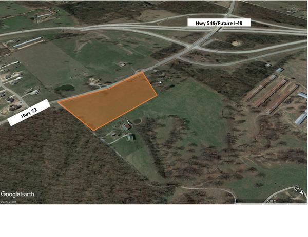 Hwy 72 10 acres