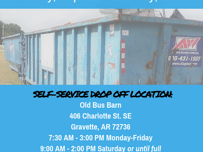 Fall Clean Up Scheduled