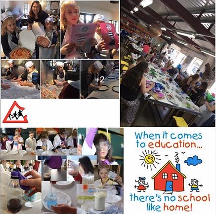 Home Educated children enjoying workshops in Basingstoke