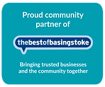 Logo Display for Community Partners of The Best of Basingstoke