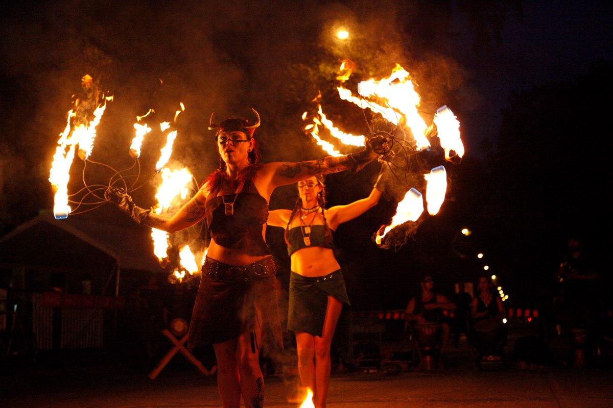 Sacred Flames shamaness show