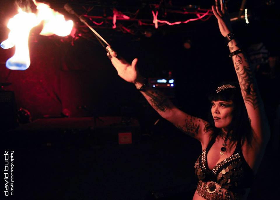 Sacred Blaze show